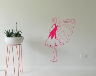 FAIRY WALL STICKER, Removable Decal, Made in Australia