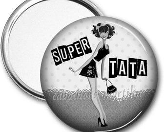 Tata, 50 mm Pocket mirror mirror
