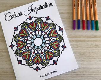 Colour Inspiration - Mandala Colouring Book