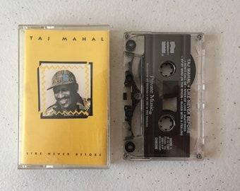 Taj Mahal Like Never Before Cassette Tape