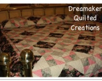 Mystic Garden Queen or King Size Quilt