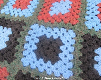 Hand made vintage 1970 covers bed cover hook