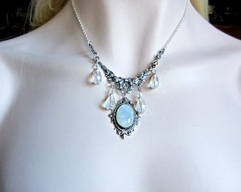 victorian necklaces listing beaded necklace cameo il