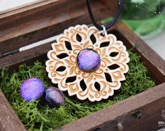 Fairy Tale jewelry set - Ultra Violet