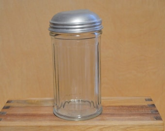 Gemco NYC Glass Sugar Dispenser 1950s
