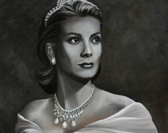 Grace Kelly Giclee