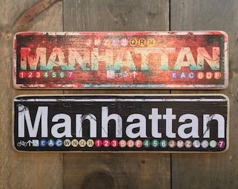 Manhattan - 4x15 in.