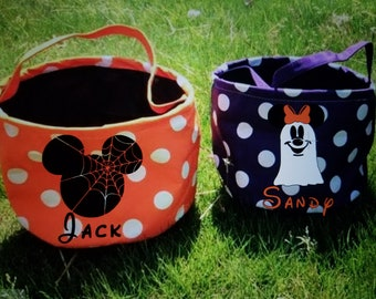 PRE-ORDER- Disney Halloween Totes Bags CUSTOM