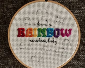 Kesha Rainbow Cross Stitch