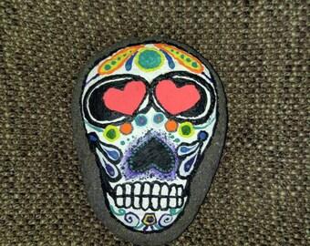 Sugar skull rock. 5 x 3