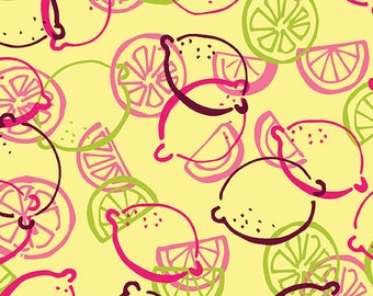 Lemon Squeezy - 1481-03 Lemon Toss Lemonade - by Holly Helgeson from Contempo for Benartex