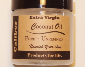 Extra Virgin Coconut Oil, 4 oz. Organic & Pure, Highest Quality + FAST SHIPPING
