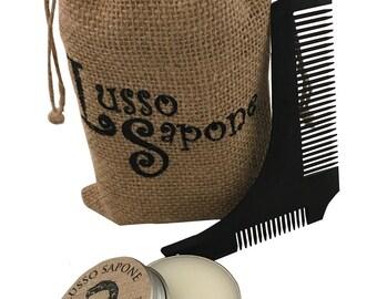 Beard Balm & Comb Set (scent options)