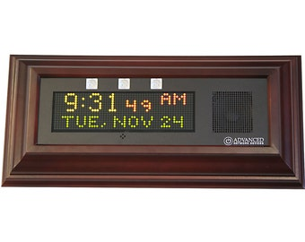 Atomic Clock with Chimes, Streaming News Headlines and Weather