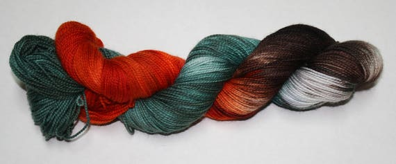 Ready to Ship - Surrender Hand Dyed Sock Yarn - Twist Sock