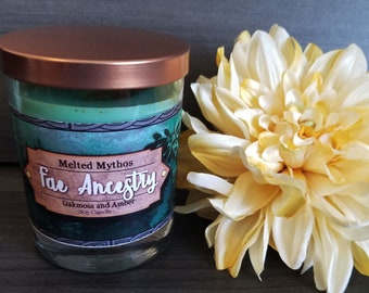 Fae Ancestry | 10 oz Wooden Wick Soy Candle
