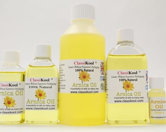 Classikool Pure Natural Arnica Carrier Oil for Massage and Aromatherapy