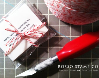 40 Simple and Pretty Address Labels - Available in Clear or White