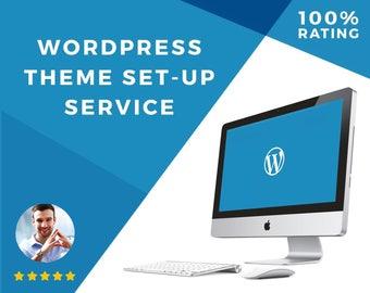 WordPress Theme Install + Branding | Installation for Wordpress Template