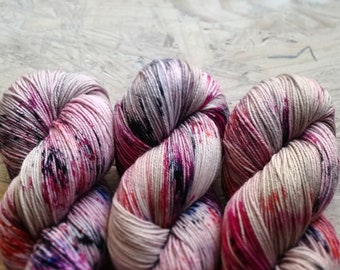 Think Of The Happiest Things   Hand Dyed Yarn