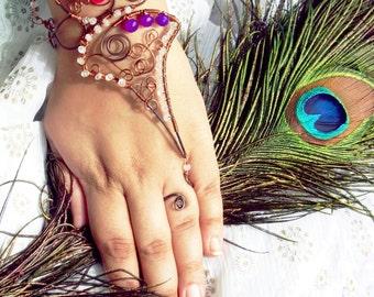 INDIVIDUELLE Paarijaat / / / Slave Armband von Jhumki Luxe - Designs von Regentropfen