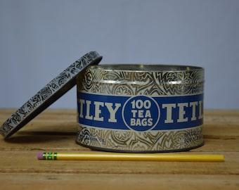 Tetley Tea Bag Tin