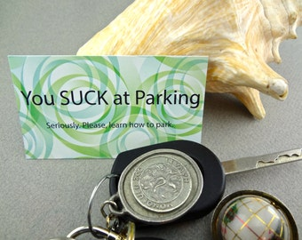 Bad Parking Cards with Class- Set of 20