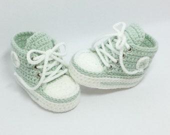 Baby shoes, chucks, Gr. 16, mint