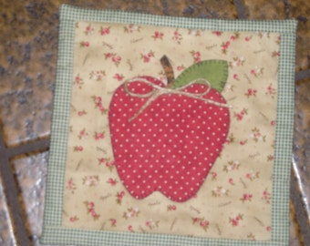 Red Apple  Wall Hanging