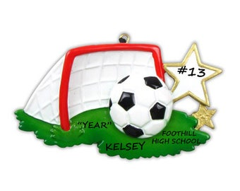 Soccer Personalized Ornament