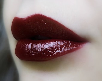 Rare Blood - Deep Red Lipstick - Natural Cruelty Free Gluten Free Fresh Handmade