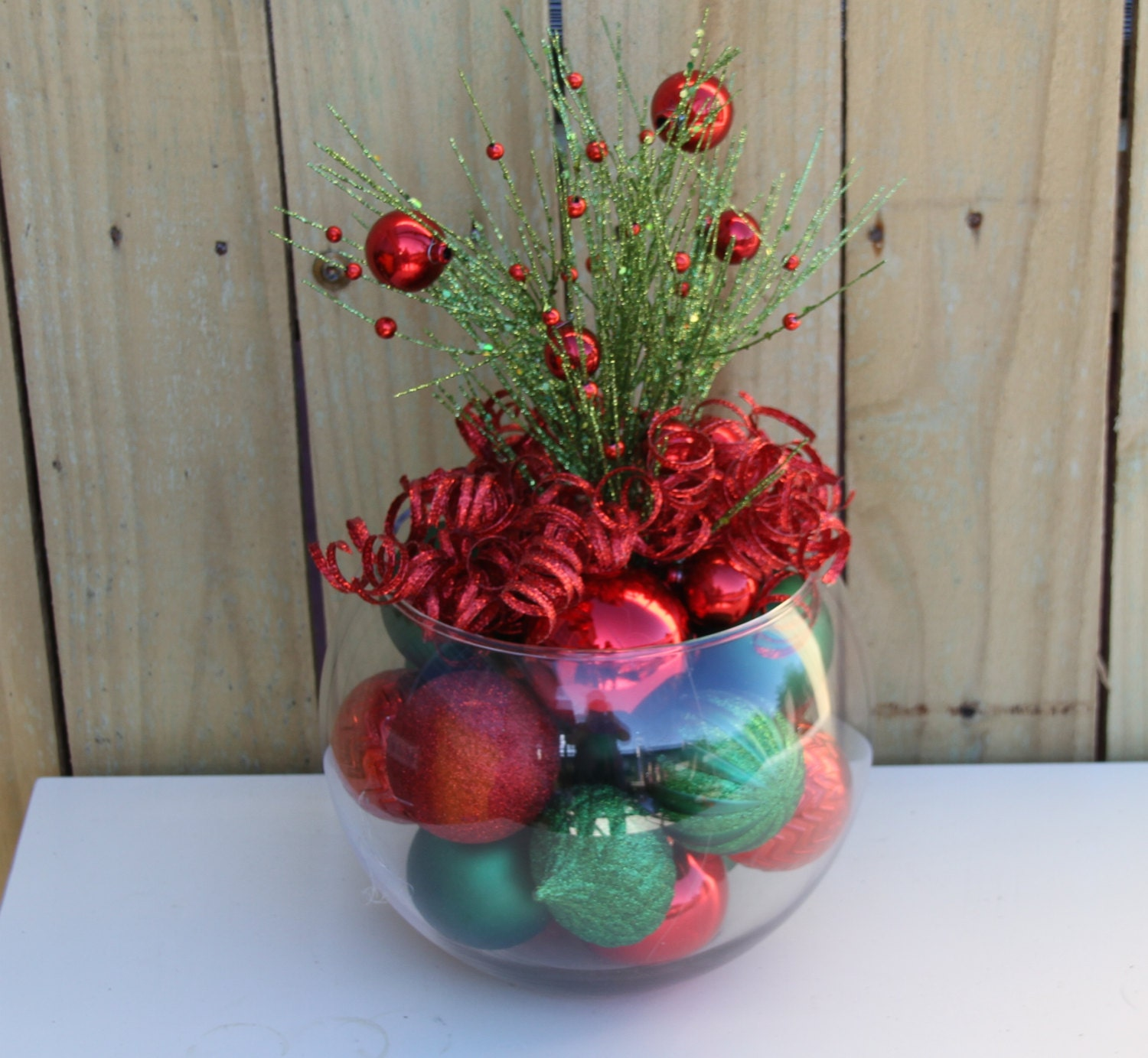 zoom - Christmas Table Centerpieces