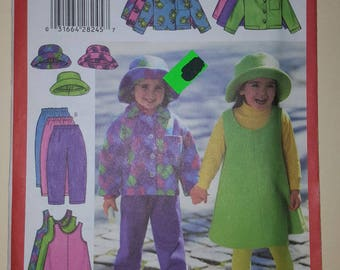 Butterick Pattern for a Child Size 2-5  #5717