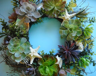 holiday pinterest peggymerecki wreaths images burlap beach brown doors teal ireland irishgirlswreaths and best grapevine coastal wreath door by on