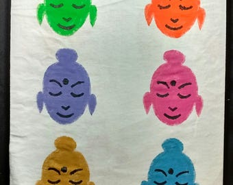 Six Buddhas Tee XL