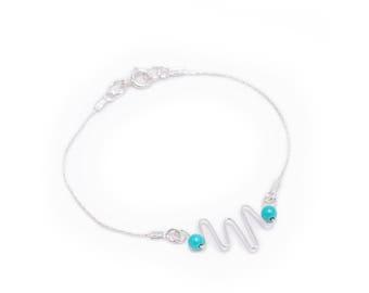 Rococo Turquoise Bracelet