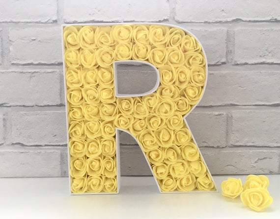 Mr And Mrs Large Wooden Letters: Mr And Mrs Wedding Sign First Birthday Gift Large Wooden