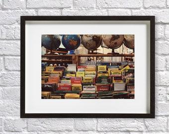 Travel Inspired Globe Art Print