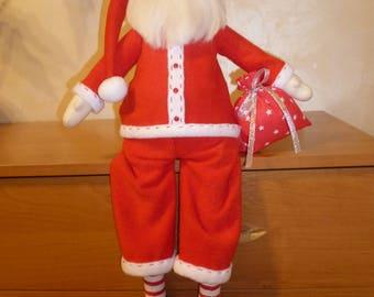 textile doll Santa Claus