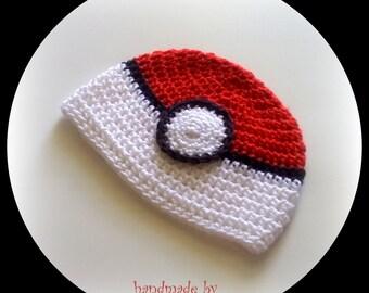 Pokeball Hat Pokemon Go Hat Kids Men Women