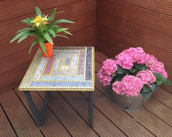 Spangle vintage 70's coffee table