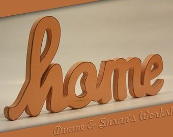 home sign home decor wooden sign rustic wooden sign sherbert home sign