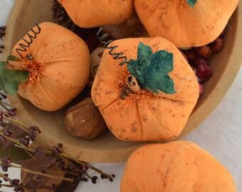 Primitive Folk Art Pumpkin Ornie Bowl Filler Pattern, Primitive Folk Art Patter, ePattern, Primitive Pumpkins, Primitive Ornaments, Pumpkins