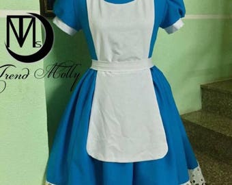 Alice in Wonderland Costume - Alice Costume - Disney Princess