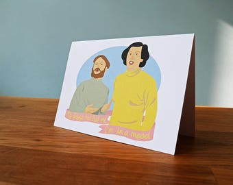 Mulligan & O'Hare/Vic And Bob Greetings Card - Friendship, Birthday, Valentines, Blank