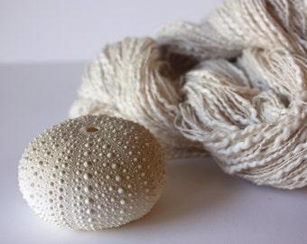 Natural Unbleached 100% Cotton Slub Yarn 3.75/2nm