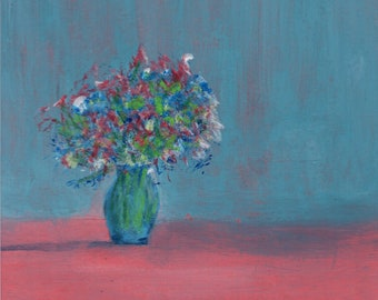 Flower Still Life | Original Painting
