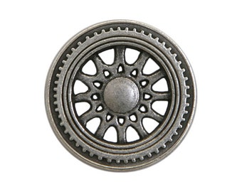 3 Solstice 3/4 inch ( 20 mm ) Metal Buttons