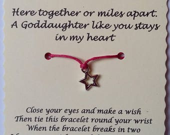 Goddaughter jewelry etsy negle Gallery