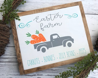 Easter farm sign